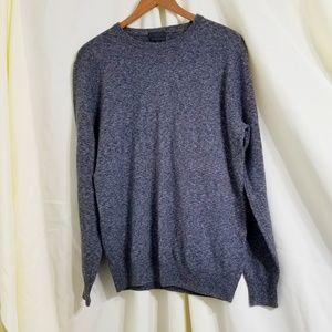 J. Crew Collection Cashmere boyfriend sweater gray